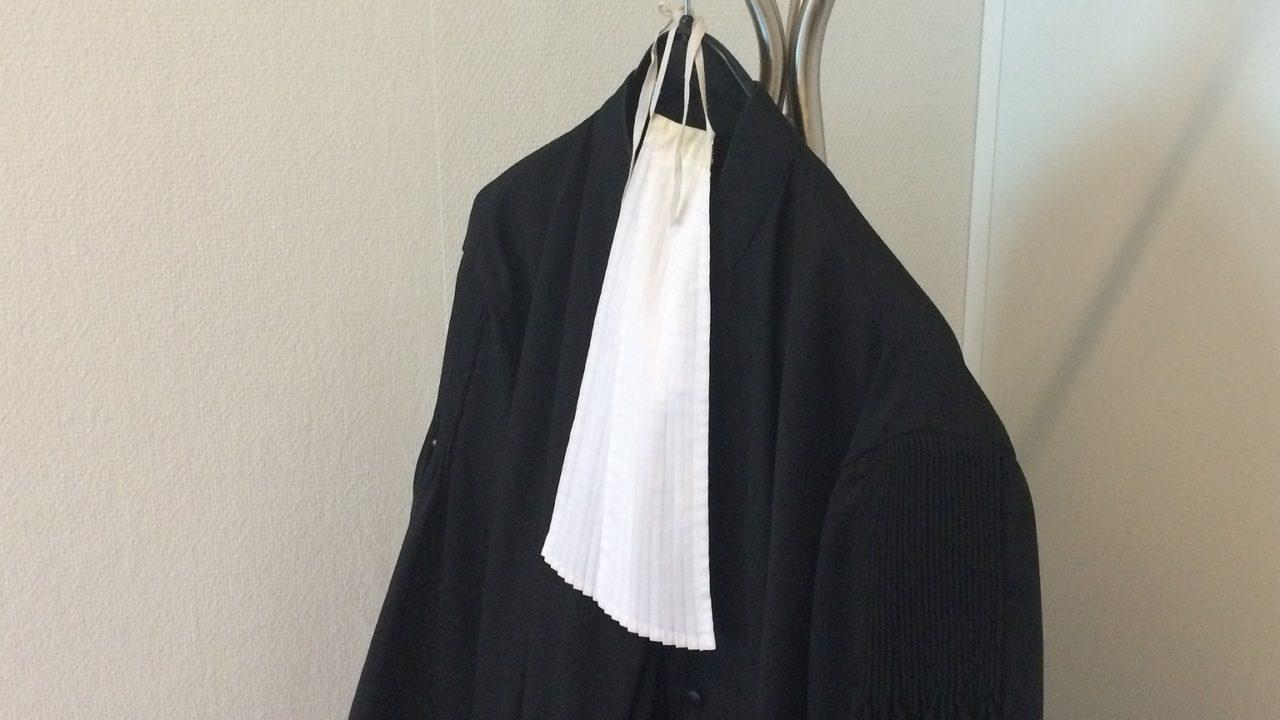 la robe avocat