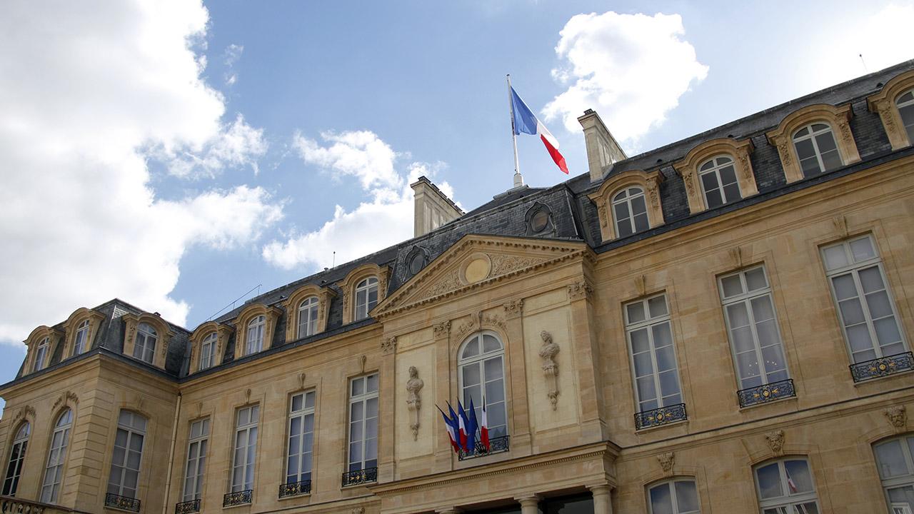 Décès ou démission du président de la République au Palais de l'Elysée