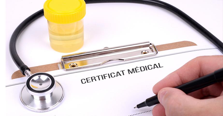"""Alt=""""Faux certificat médical : les risques liés à cette pratique"""""""