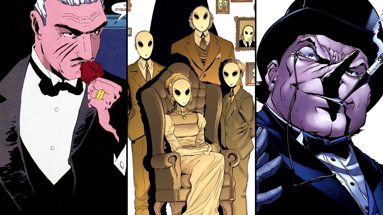 Carmine Falcone, la Court des Hiboux et le Pingouin dans l'univers Batman