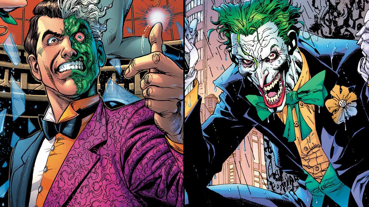 Double-Face et le Joker, des ennemis emblématiques (et fous) de Batman