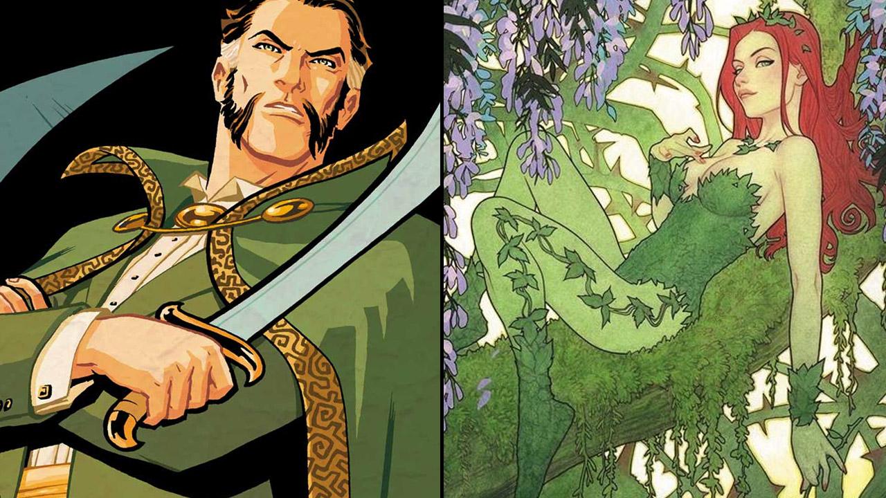 Ra's al Ghul et Poison Ivy sont deux éco-terroristes de l'univers Batman