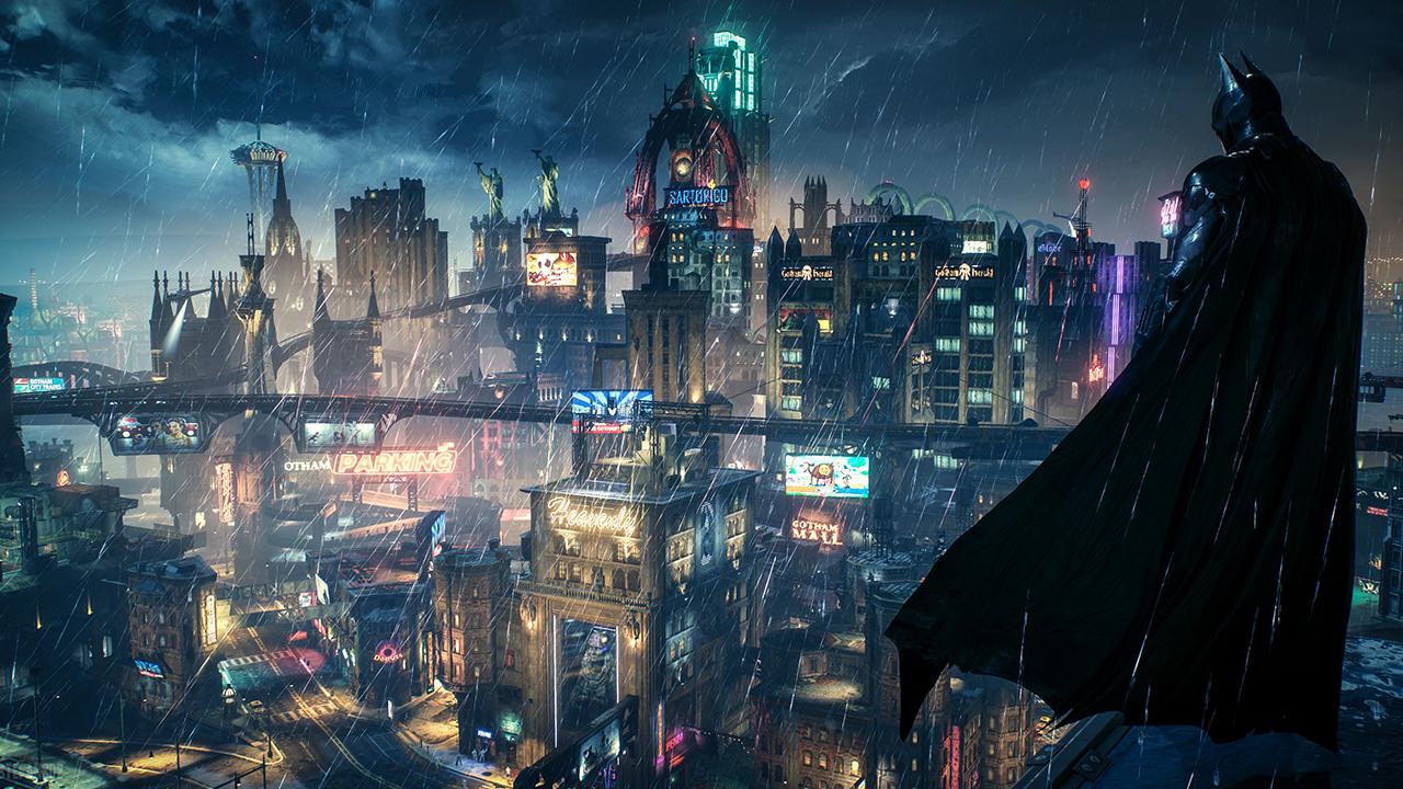 Gotham City dans le jeu Batman Arkham Knight