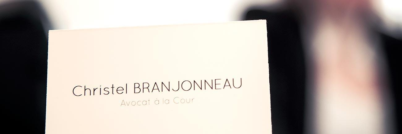 Maître Christel BRANJONNEAU, Avocat en droit des Affaires
