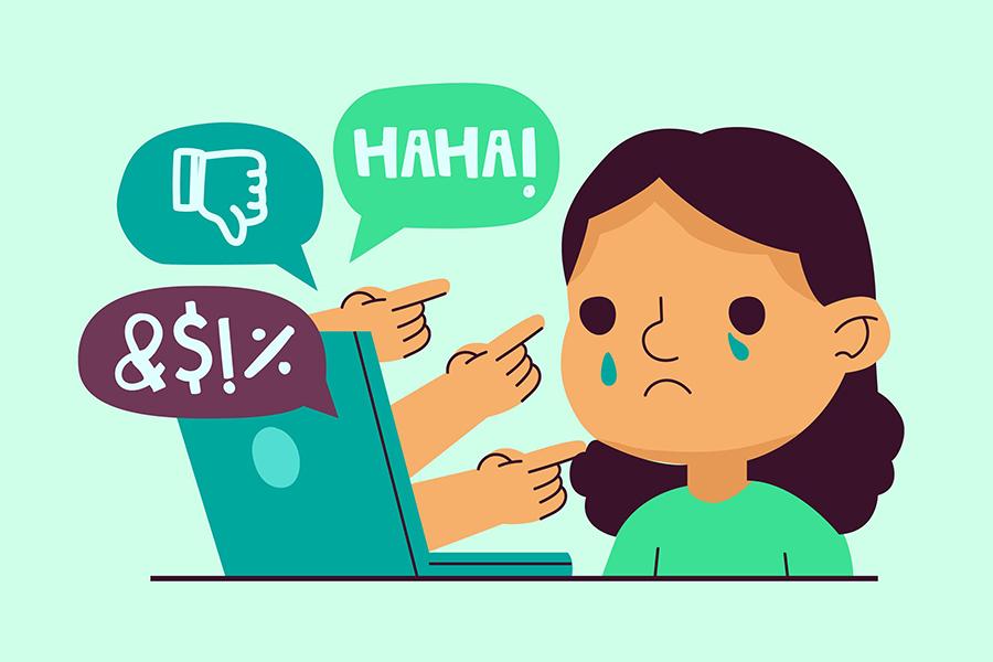"""Alt=""""Cyber-harcèlement, quels recours ?"""""""
