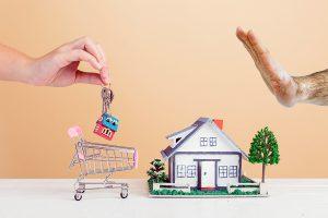 Divorce refus vente maison