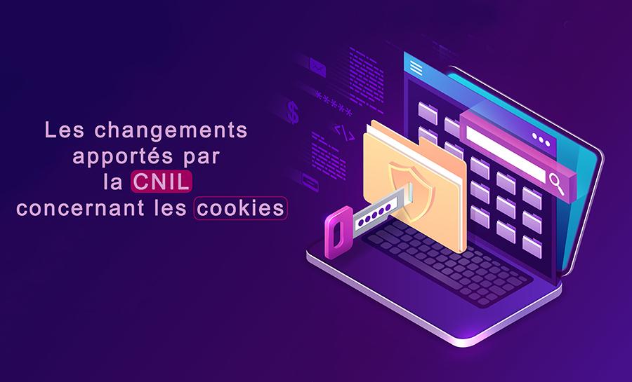 """Alt=""""Les changements apportés par la CNIL concernant les cookies"""""""