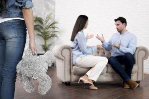 Divorce garde partagée