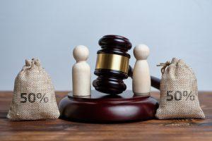 Partage des biens après divorce délai
