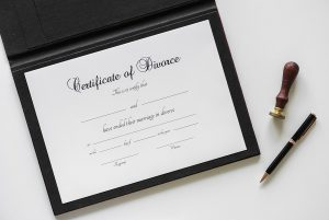 Attestation de divorce