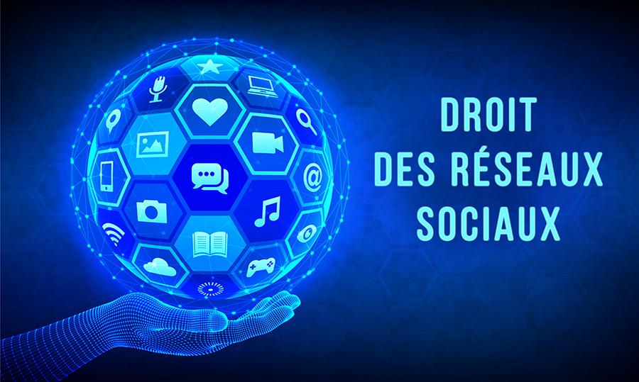 """Alt=""""Droit des réseaux sociaux - Que dit la loi ? """""""