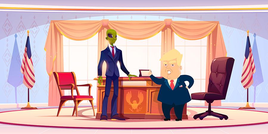 """Alt=""""Contestation du résultat des élections présidentielles par un président"""""""