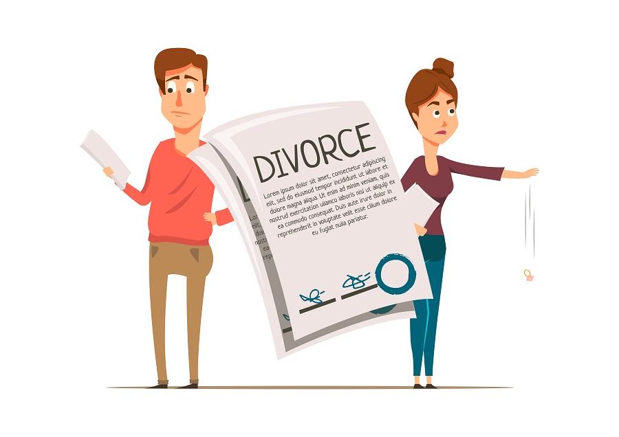 """Alt=""""Droit de l'épouse en cas de divorce"""""""
