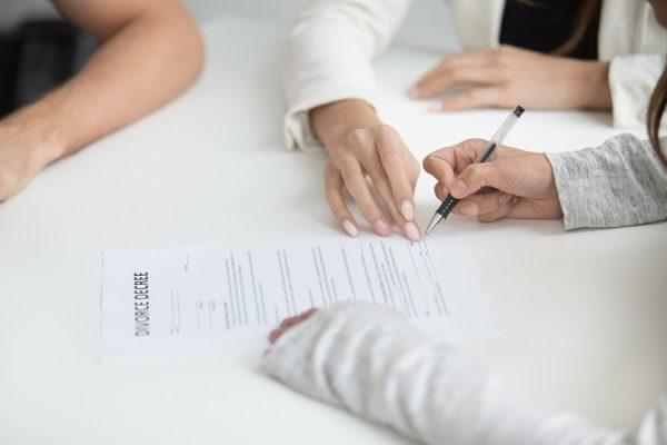 Convention de divorce par acte d'avocat