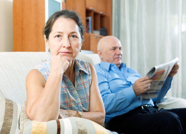 Divorce et retraite de l'ex-mari