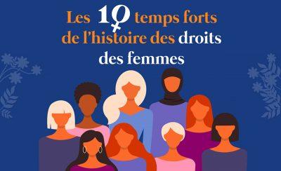 Les 10 temps forts de l'histoire des droits des femmes