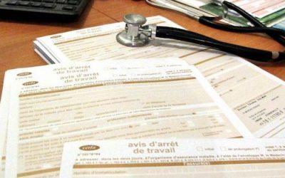 L'attestation de salaire en cas d'arrêt maladie