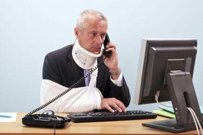 L'incapacité suite à un accident du travail